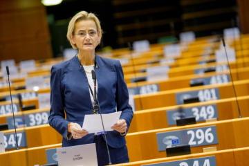 Maďarská europoslankyně Enikő Győrivá (ELS)