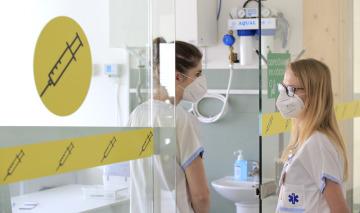 Nové očkovací centrum v Jihlavě - Hruškových Dvorech.Právě pandemie covid-19 motivovala EU k několikanásobnému navýšení rozpočtu pro potřeby zdravotnictví na léta 2021–2027.