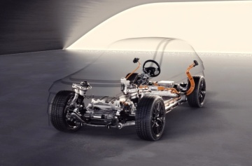 Elektromobil Audi - ilustrační foto.