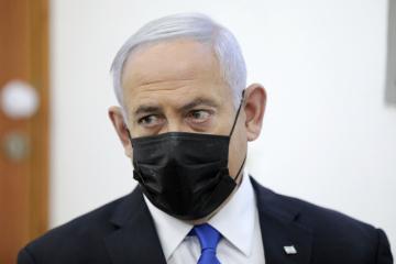 Izraelský premiér Benjamin Netanjahu u soudu 5. dubna 2021.