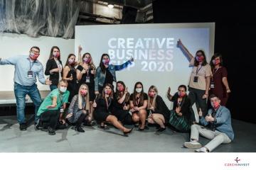CzechInvest v září 2020 uspořádal v brněnské Industře soutěž Creative Business Cup, přehlídku nejkreativnějších startupů ČR.