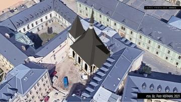 Olomouckým odborníkům se podařilo sestavit virtuální hmotovou rekonstrukci a vizualizaci podoby kostela sv. Petra v pozdní gotice.