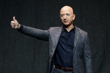 Zakladatel technologického giganta Amazon Jeff Bezos.