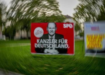 Sociální demokrat (SPD), uchazeč o kancléřský úřad, Olaf Scholz