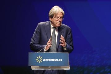 Eurokomisař pro ekonomiku Paolo Gentiloni.