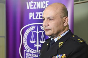 Novým generálním ředitelem Vězeňské služby České republiky se stane dosavadní náměstek ředitele Simon Michailidis (na snímku z 18. března 2019).