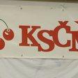 Logo KSČM (Komunistické strany Čech a Moravy).