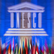 Logo UNESCO.