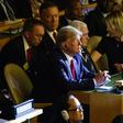 Ilustrační foto - Americký prezident Donald Trump na klimatickém summitu v New Yorku.