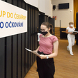 Velkokapacitní očkovací místo v Plzni nabídlo 23. července 2021 očkování první dávkou vakcíny proti koronaviru bez předchozí registrace.